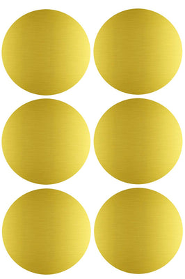 Dot stickers 2 inch Metallic colors 50mm