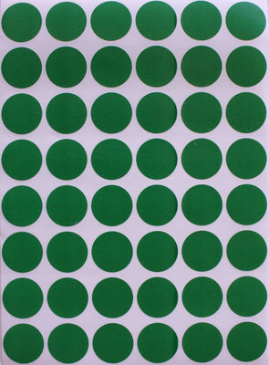 Dot stickers 11/16 inch classic colors 17mm