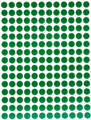 Dot stickers 1/4 inch Classic colors 8mm
