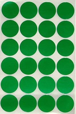 Dot stickers 1 inch classic colors 25mm
