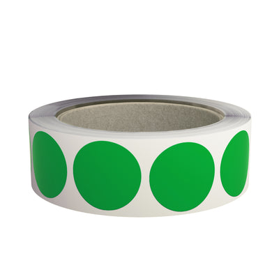 Round Circle Stickers 1.5 inch Label Rolls 38mm