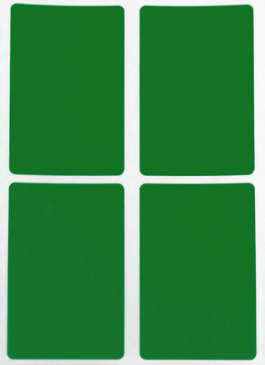 Rectangular stickers 3 x 2 inch Classic colors 7.5 cm x 5 cm