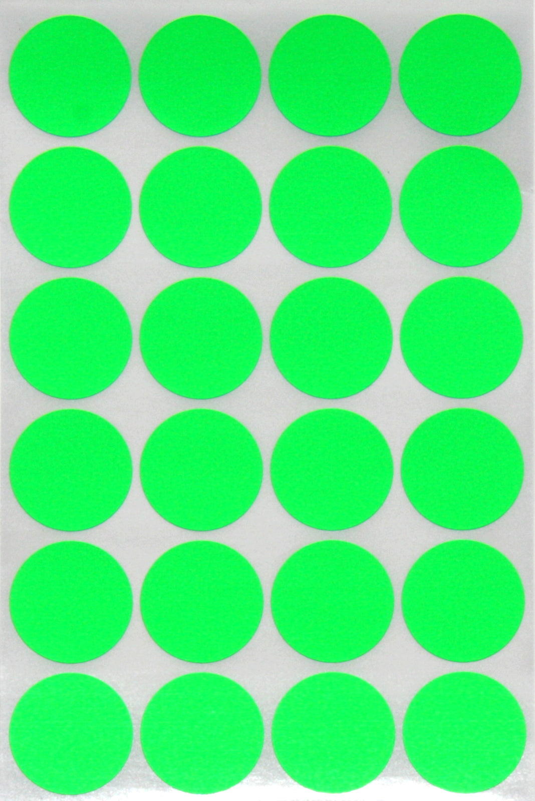 Round Stickers Colored Labels Sticker Dots Pink 25mm 360 Pack by Royal Green