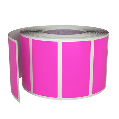 Rectangular stickers rolls 1.57 x 0.75 inch Color coding labels 40mm x 19mm