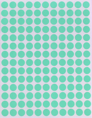 Dot stickers 3/8 inch Pastel Colors 10mm