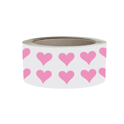 Heart Stickers 1/2 inch Label Rolls 13mm
