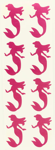 Mermaid Stickers 2 Inch For Arts And Crafts