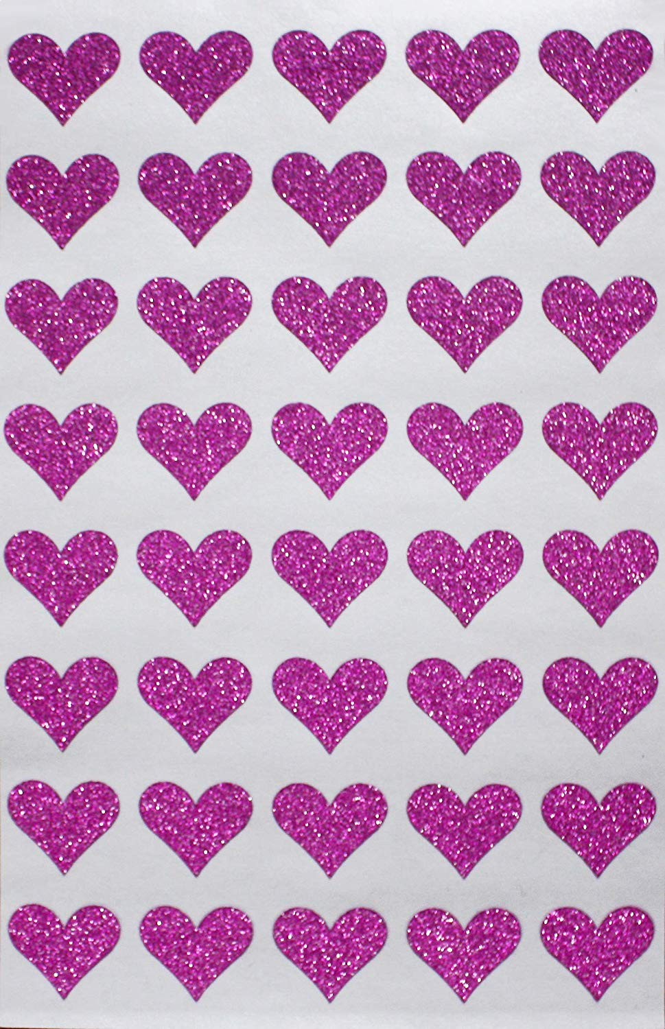 240 Stickers Total Valentines Day Heart Shaped Stickers Set