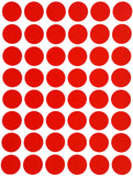 Colored Stickers 17mm Inch Circle Round Dots
