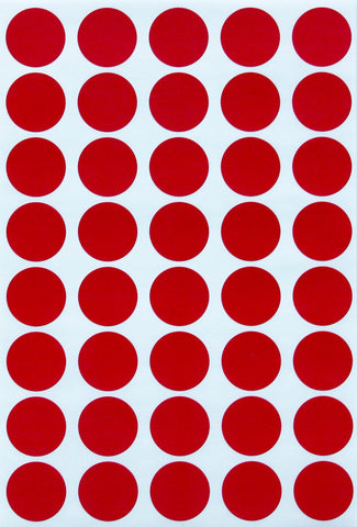 Dot stickers 3/4 inch classic colors 19mm