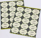Blank Cloud Spice Stickers Decorative Labels
