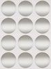 Dot stickers 1.5 inch Metallic colors 38mm