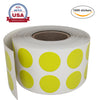 Dot stickers ½ inch Rolls 13mm Color coding labels