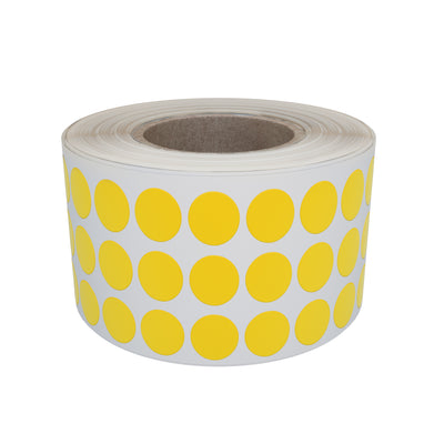 Dot stickers 1/4 inch Rolls 8mm Color coding labels