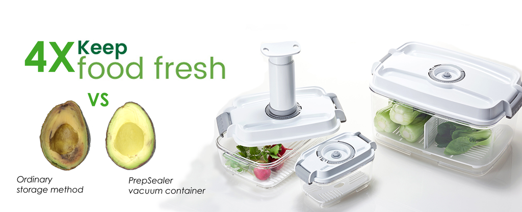 food saving vacuum container keep fresh 4x longer