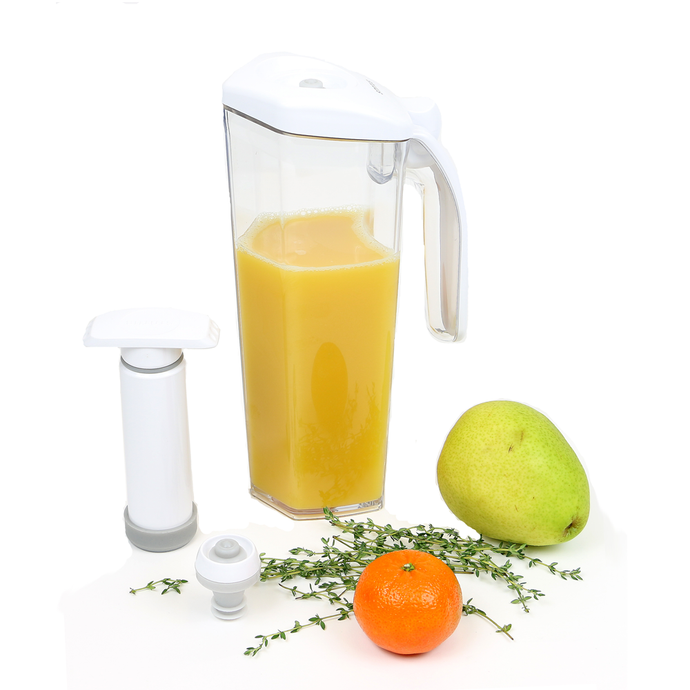 Food Saving Vacuum Juice Jug 3pc set