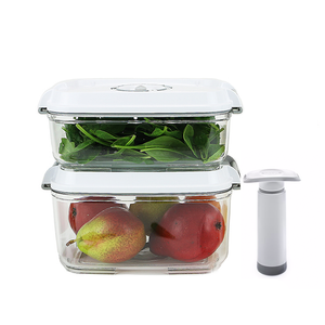 Food Saving Tritan Vacuum Container 3PC Set -coming soon