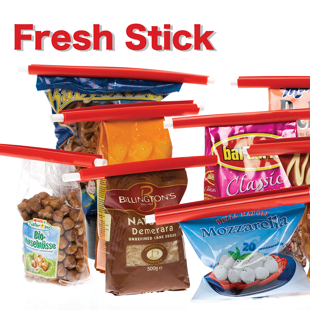 Food Saving Fresh Stick 6 pc set- Airtight Food Seal Clamp