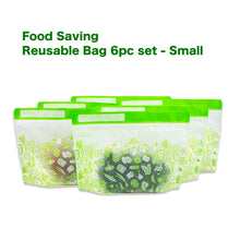 Food Saving Reusable Bag - Small 6pc set -coming soon