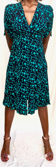 Green Dot Kristina Dress short sleeves