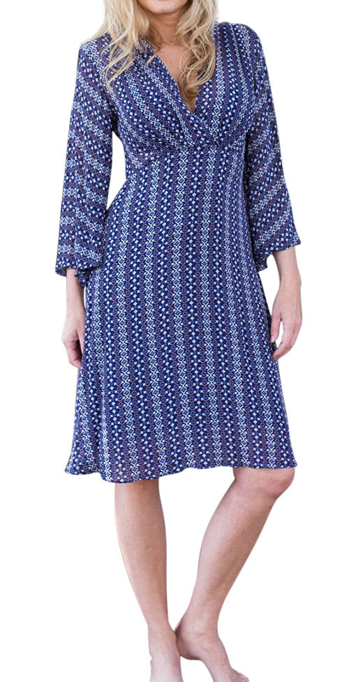 Sophia Dress 3/4 Sleeve