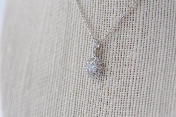 Isla Cubic Zirconia Necklace