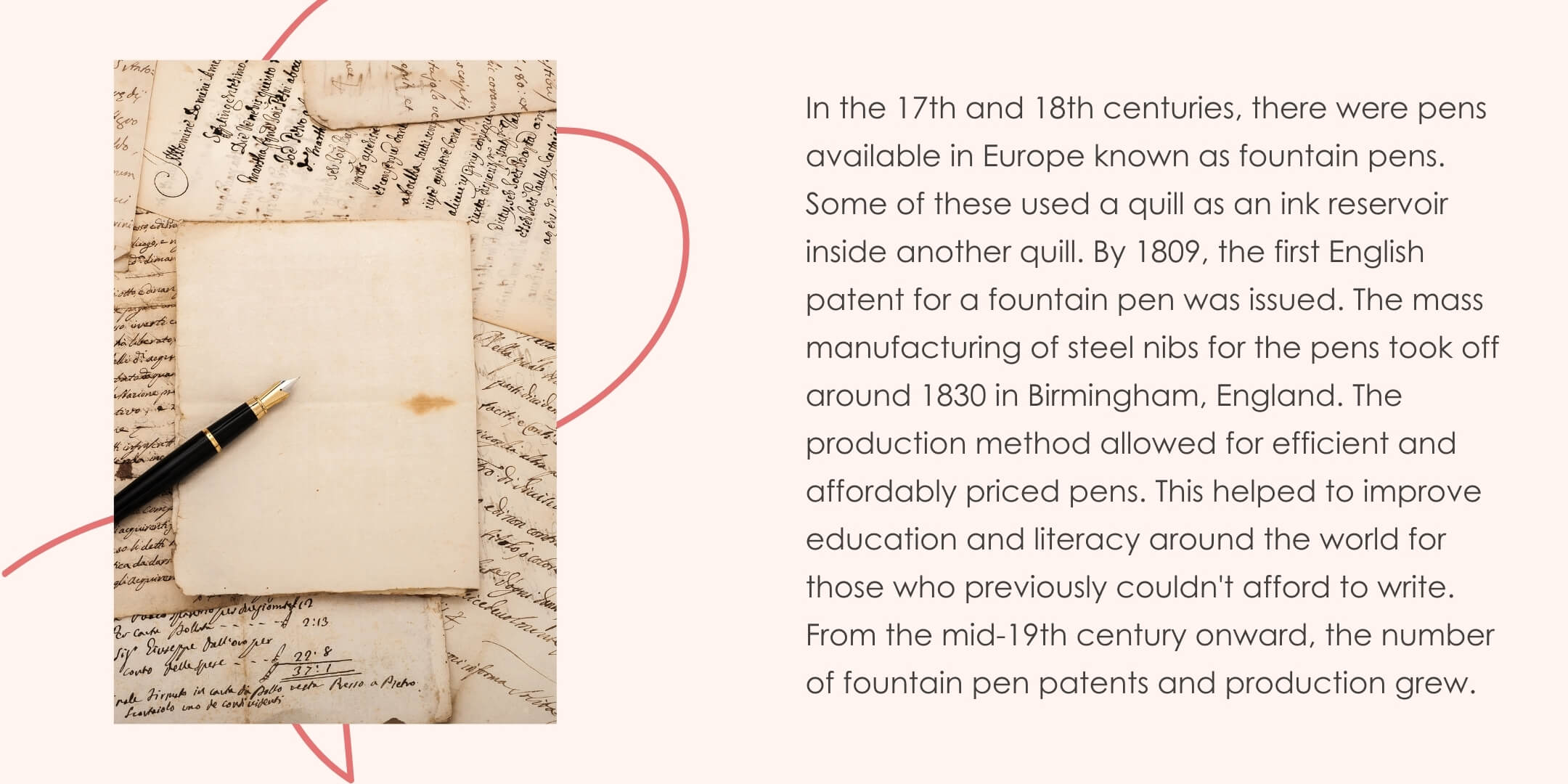 History of fountain pens