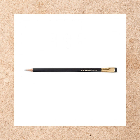 Blackwing Matte Black Pencil