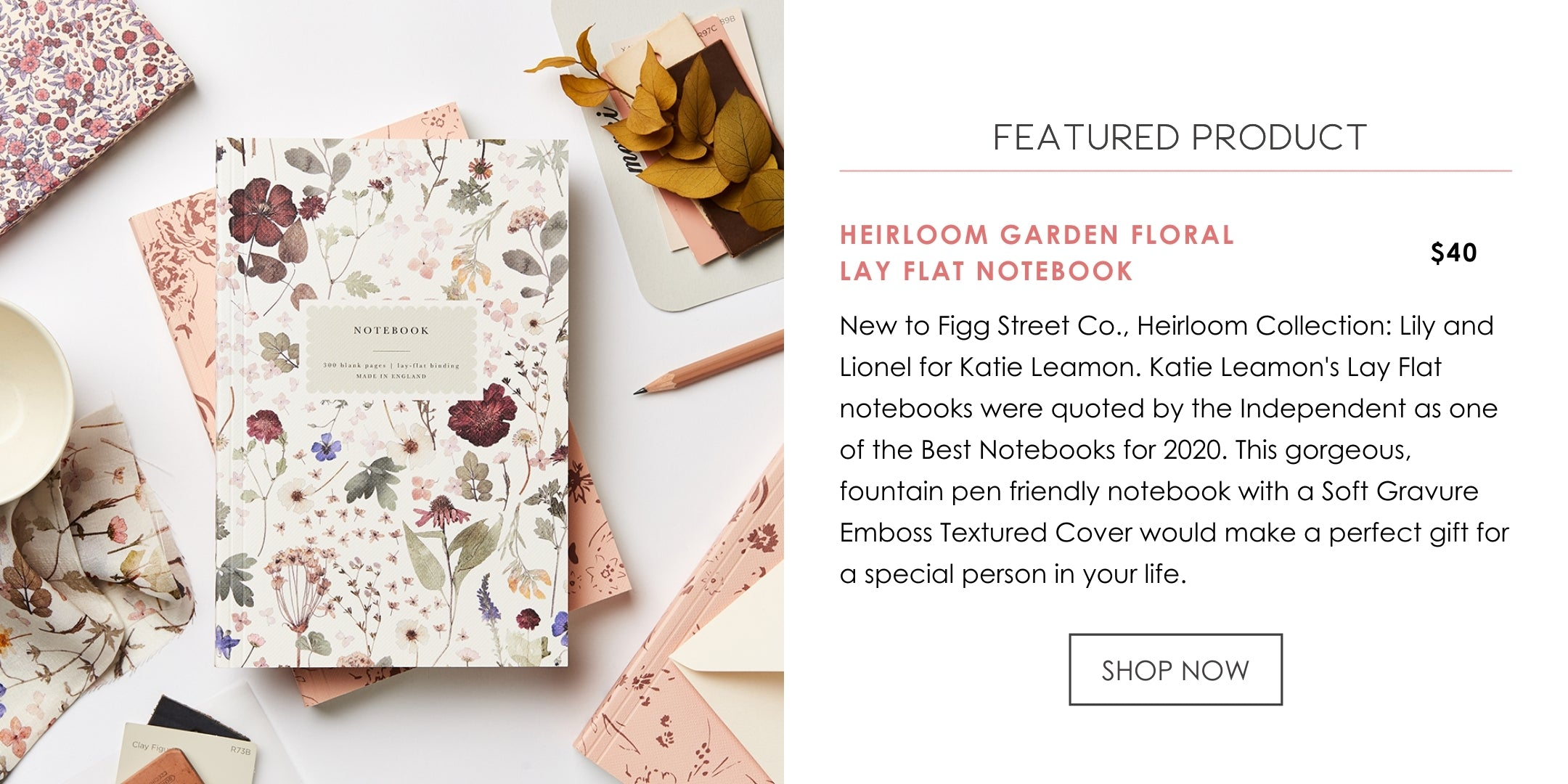 Katie Leamon Heirloom Notebook