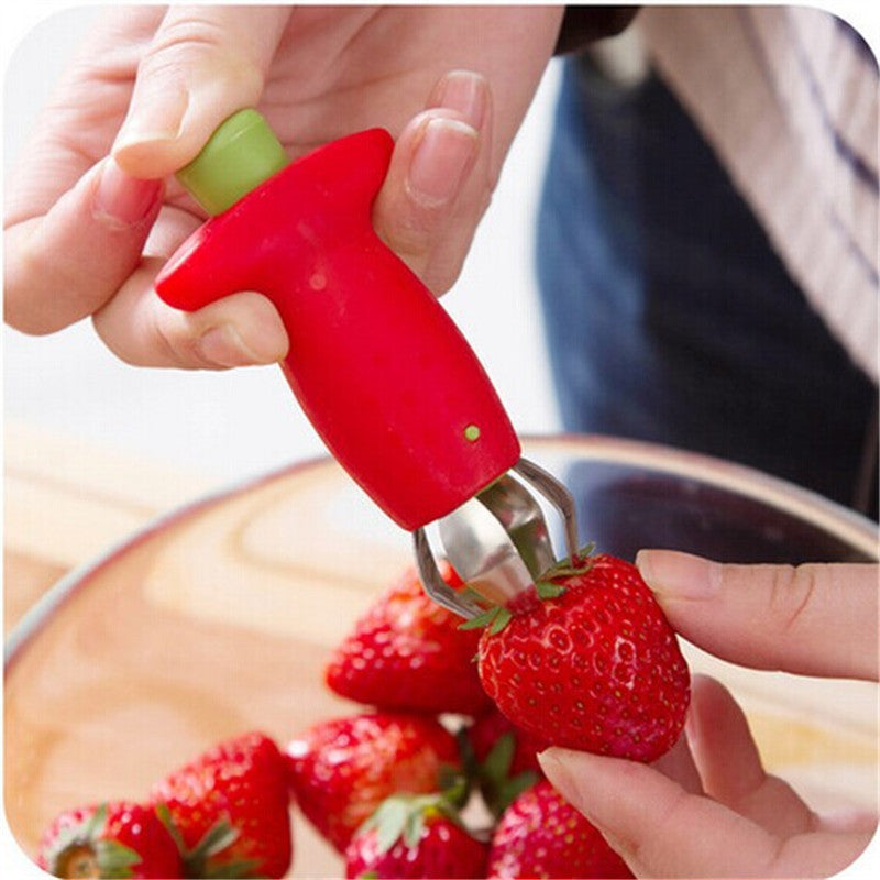 Strawberry / Tomato Corer / Stem Remover – TheGadgetLadys