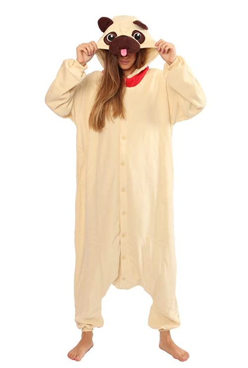 Pug Crazy™  Pajamas Onesie, Costume, Kigurumi (Adult & Kids)