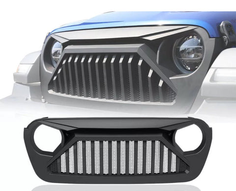 Angry Gladiator Grille Jeep Wrangler JL 2018 - 2019
