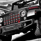 Jeep Wrangler Grille Inserts Made in USA