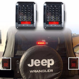 Smoked or Clear Brake Light Jeep Wrangler JK TJ 1997 - 2018