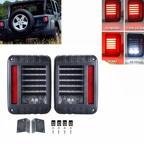 Brake Lights LED Jeep Wrangler JK TJ 1997 - 2018
