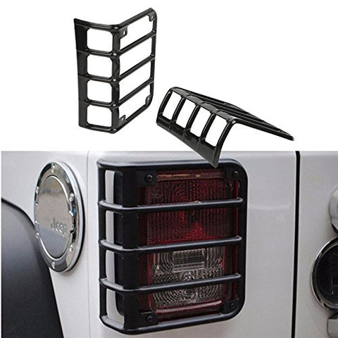 Stainless Steel Mount Bracket Protect Cover Guards Jeep Wrangler 2007 - 2018