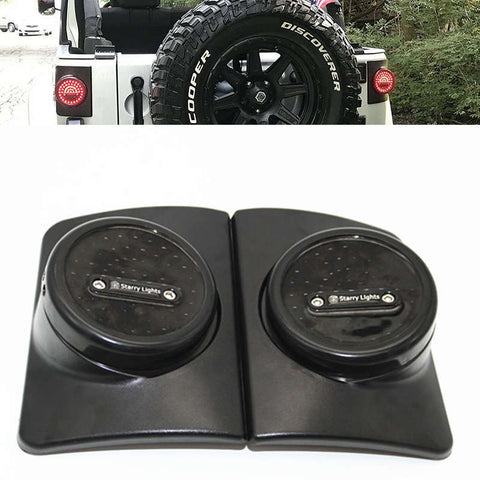 NEW Brake Light Armored Round Jeep Wrangler JK 2007 - 2017