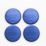 4PCS Air Vent Trim Stickers Jeep Wrangler JK 2007 - 2017