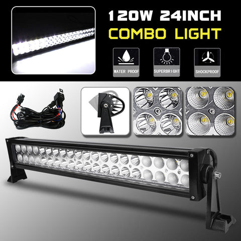 24inch 120W LED Work Light Bar Offroad