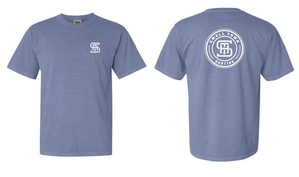 Ice Blue Comfort Color STH Logo Shirt