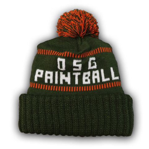OSG Paintball Deluxe Cuff Pom Pom Hat