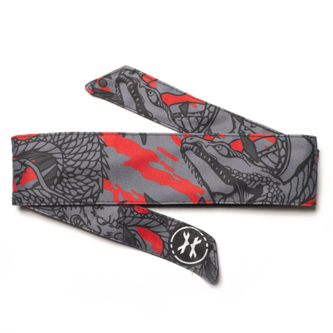 HK Army Ryu Red Headband