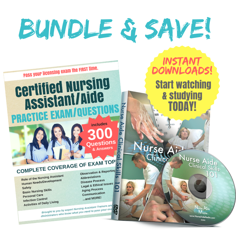Bundle - Clinical Skills 101 DVD (download) & 300 Practice Questions (download)