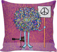 Peace, Man - Couch Pillow