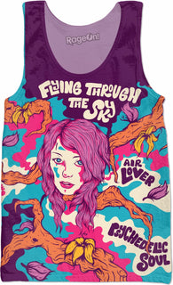 Flying Through The Sky - Tank Top