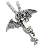 Dragon Sword Stainless Steel Necklace
