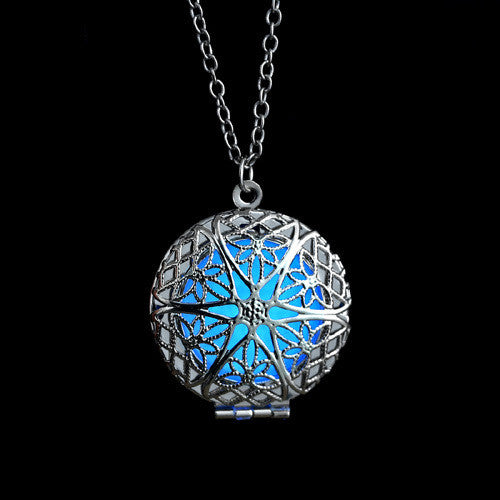 Glow-in-the-Dark Enchanted Orb Necklace