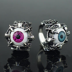 Punk Eye Claw Ring