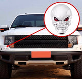 3D Skull Decal