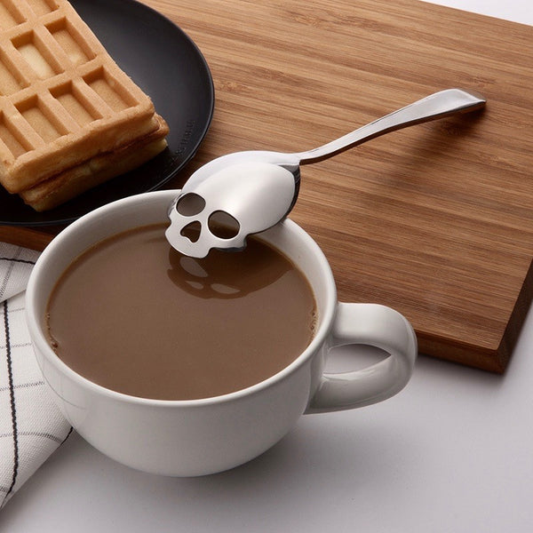 Stainless Steel Skull Spoon
